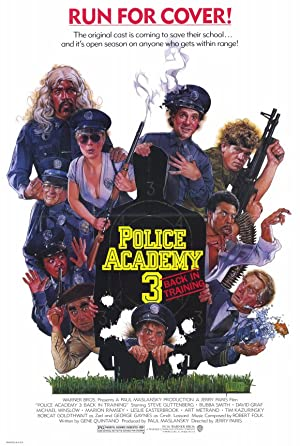 Police Academy 3: Back In Training