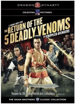The Five Deadly Venoms