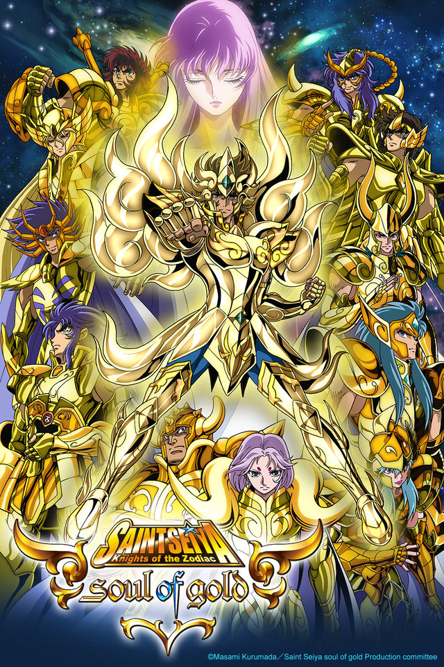 Saint Seiya: Soul Of Gold: Season 1